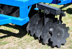Part of the disc harrow Stock Photography