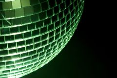 Part of disco ball Royalty Free Stock Images
