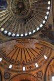 Part of the dome Hagia Sophia Stock Photo