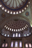 Part dome of Sultan Ahmed Mosque Stock Images