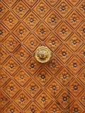 Part of door. Luxury part of door Stock Photography