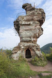 Part of the Drachenfels castle in Germany Royalty Free Stock Photography