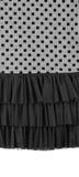 Part of dress texture Stock Photos