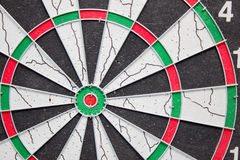 Part of drilled dartboard close up Royalty Free Stock Photography