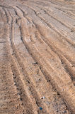Part of Dry Dirt Road Stock Image