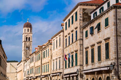 Part of Dubrovnik old town Royalty Free Stock Photos