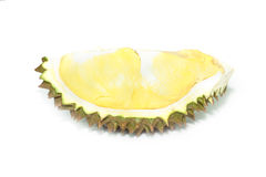 Part of durian ripe with spikes Stock Images