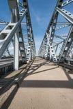 Part of Dutch truss bridges Stock Photography