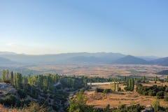 Land, Ova and area, Fethiye, Mugla, Turkey stock photo