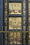 A part of the East Doors of the Florence Baptistery Royalty Free Stock Photography