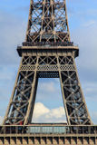 A part of Eifel tower Stock Image