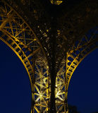 A part of Eiffel tower Royalty Free Stock Images