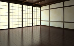 Part of the empty room vector illustration