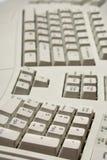 Part of ergonomic computer keyboard Royalty Free Stock Photos