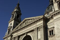 St. Stephen Basilica, Budapest, Hungary Stock Images