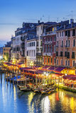 Part of famous Grand Canal Stock Image