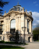 The part of the fasade of the Petit Palais Royalty Free Stock Photo