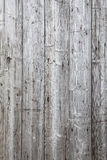 Part of fence with grey weathered planks Stock Image