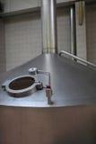 Part of fermentation vat Stock Image