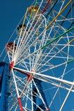 Part of ferris wheel Stock Images