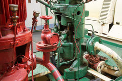 Part of fire sprinkler system Royalty Free Stock Image