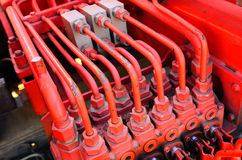 Part of Fire Truck equipment Royalty Free Stock Image