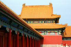 A part of Forbidden City. China Royalty Free Stock Photos