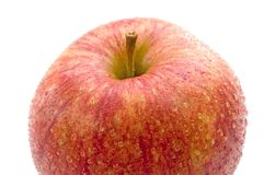 A part of a fresh red apple Royalty Free Stock Photo