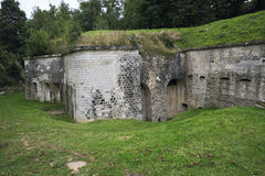 Part of the front wall of the Fort de Condé Stock Photos