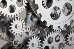 Part of gears. Stock Photography
