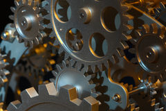 Part of gears. Stock Image