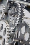 Part of gears. Royalty Free Stock Image