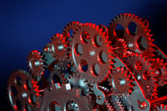 Part of gears. Royalty Free Stock Photography