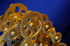 Part of gears. Stock Images