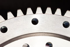 Part of gears Royalty Free Stock Photo