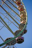 Part of Giant Wheel with blue sky Stock Photography