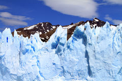 Glacier Cliff Stock Photo
