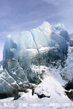 The part of glacier Stock Images