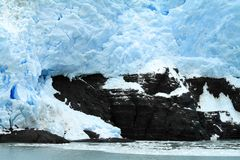 Iceberg Cliff Royalty Free Stock Images