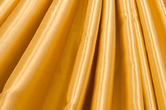 Part of the gold curtains Royalty Free Stock Photography
