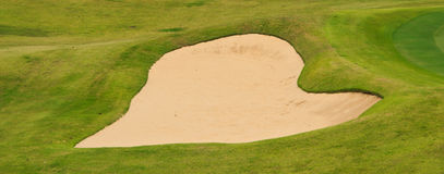 A part of golf course in Thailand Royalty Free Stock Images