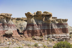 Gooseberry Creek Badlands Hoodoos Royalty Free Stock Photography