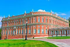 Part of Grand Palace. In Tsaritsino, Moscow, Russia, East Europe royalty free stock images