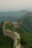 Part of Great Chinese wall Stock Photos