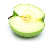 The part of green apple Royalty Free Stock Images