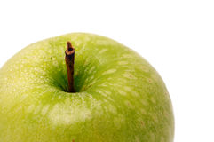 part of green apple Royalty Free Stock Image