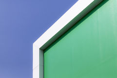 The part of green building Stock Photography
