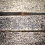 Part of grunge wooden bench Royalty Free Stock Photo