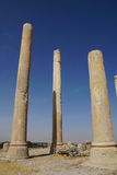 Part of the Hall of a Hundred Columns  at Persepolis in  Shiraz, Royalty Free Stock Photography