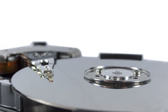 Part of hard disk Royalty Free Stock Photo